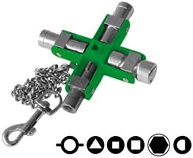 E-ROBUR – Kreuzschlüssel, 9 Mulden, 394013