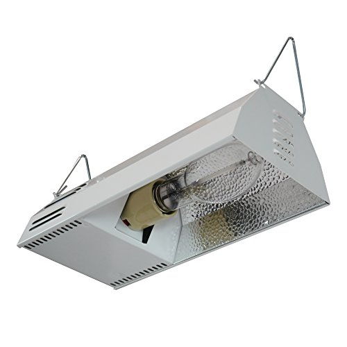 HydroplanetTM Grow Light Fixture HPS 150W Complete System with Hydroplanet Lamp - HPS Plug and Play Grow Lamp For Hydroponics and Greenhouse Use(150W Grow Light Kit)