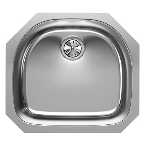- Elkay EGUH2118 Single Bowl Undermount Stainless Steel Sink
