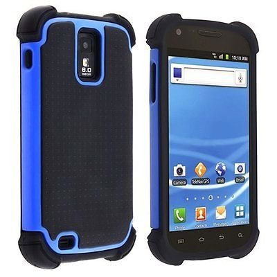 best website bf8c9 12179 Amazon.com: Hybrid Armor Case for Samsung Galaxy S2 T989 (T-Mobile ...