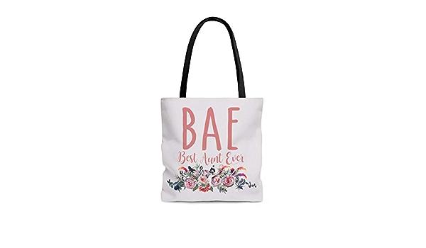 BAE Best Auntie Ever tote bags