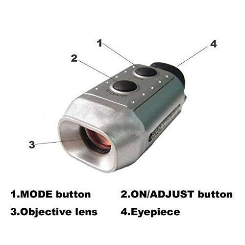 PLAYEAGLE Golf Digital Rangefinder 7x18 Golf Training Tools Optic Telescope for Measuring Distance Sports Golf Digital Distance Meter/Golf Rangefiner by PLAYEAGLE (Image #3)