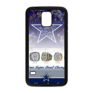 Dallar Cowboy Pattern Fashion Comstom Plastic case cover For Samsung Galaxy S5 BY RANDLE FRICK by heywan