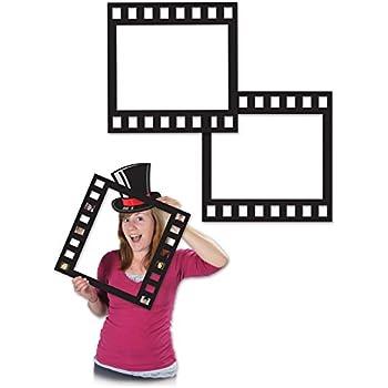 Spellen en activiteiten FEMALE AWARD NIGHT RED CARPET PHOTO PROP Oscars Night Party Selfie Fun 57983