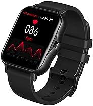 Relógio Smartwatch Inteligente XFTOPSE para Masculino e Feminino com Chamada Bluetooth, IP67 À Prova Dágua, Mo