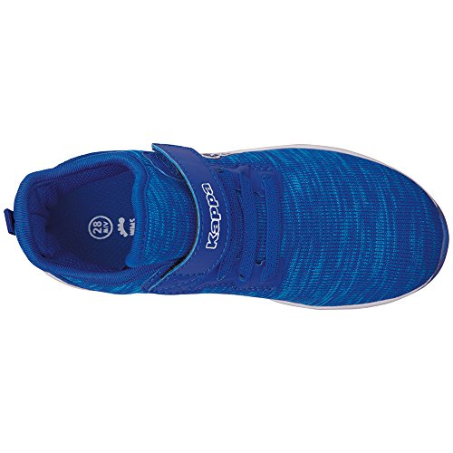 Kappa Paras ML Kids, Zapatillas Unisex Niños azul (6010 azul/blanco)