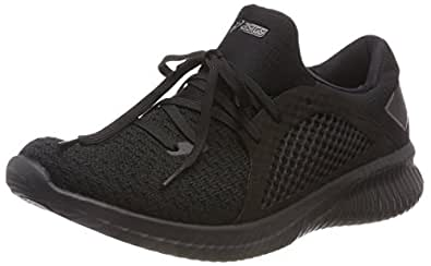 Asics Men's Gel-Kenun Knit MX Road Running Shoes, Black (Black/Black),8 US,41 1/2 EU