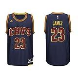 Adidas Men's Cleveland Cavaliers NBA LeBron James Swingman Jersey Dark Navy Medium