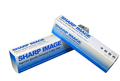 Sharp Image F-02 Ultra Soft Intraoral Film, F-Speed Double, #0 Size (Pack of 100) by Sharp (Image #1)
