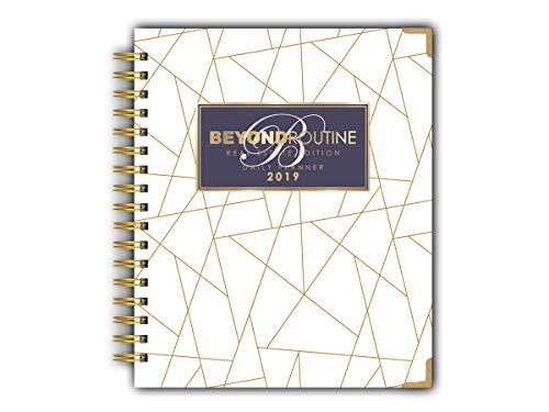 2019 Beyond Routine Daily Real Estate Planner | Signature Gold