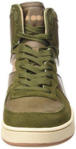 Naturale Cestino Adulti Unisex Verde Beige Calzature Elm Per Camo Mio Diadora gwqzAA