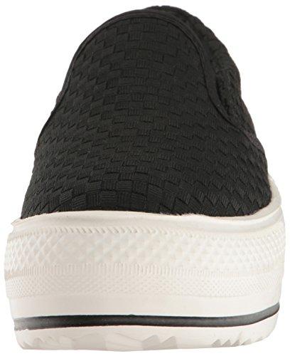 Bernie Mev Womens High-end Fashion Sneaker Zwart
