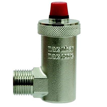 Purgador automático de la válvula de 1/2 pulgada / 15 mm, entrada lateral