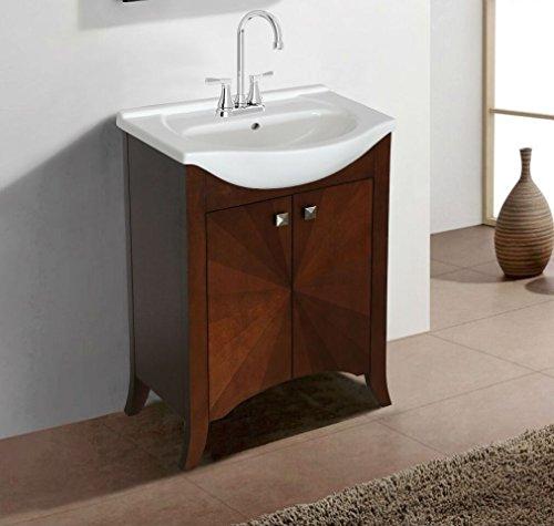 "41IX%2BojLrQL - Legion Furniture WLF6041 Sink Vanity, 24"", Royal Walnut"