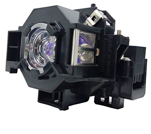 JTL ELPLP41 Replacement Projector Lamp Bulb with Housing for for Epson PowerLite S5/S6/77C /78, EMP-S5,EMP-X5 Projectors