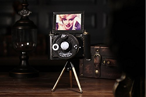 Continental retro old card camera model bar window display soft zj01251046
