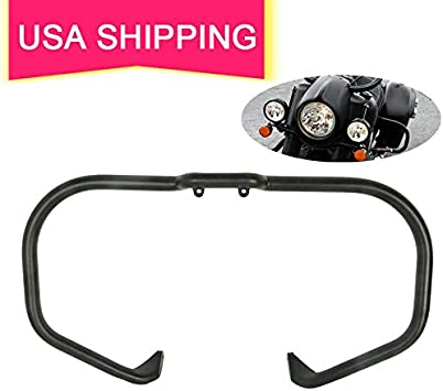 TCT-MT Engine Guard Highway Crash Bar Mustache Bars For Indian Chief Classic Vintage 2014-2018 Chieftain Elite Limited Roadmaster Dark Horse 2016-2018 Chrome 2017