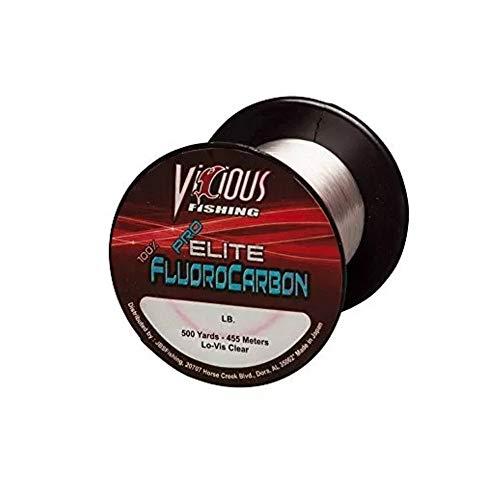 Vicious 500 Yard Pro Elite Fluorocarbon Fishing Line (8-Pound)