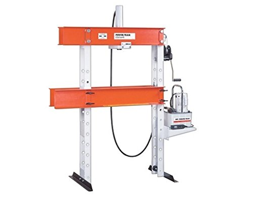 SPX Power Team SPA2514 H Frame Open Throat Press Clamp for Single Acting Cylinders, 25 Ton Capacity, 14 1/4