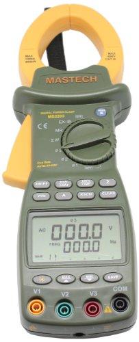 AideTek AMS2203 MS2203 3-Phase Clamp Meter Power Factor Correction (3 Phase Meter)