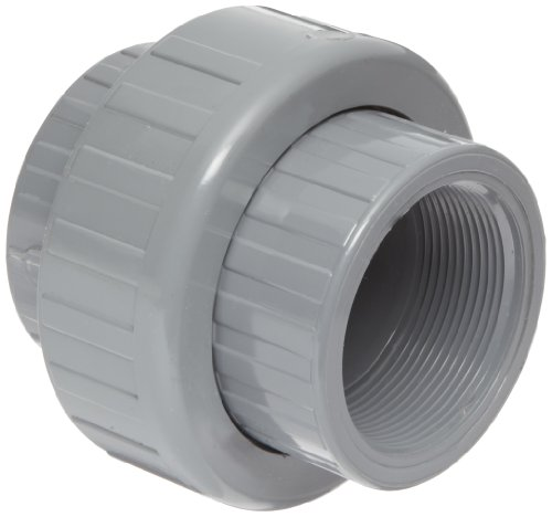 Socket Epdm (Spears 897-C Series CPVC Pipe Fitting, Union with EPDM O-Ring, Schedule 80, 1-1/2