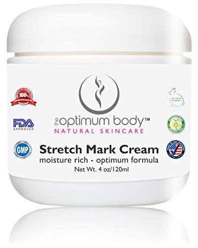 Best Stretch Marks and Scars Cream - Prevents and Reduces Old & New Stretch Marks & Scars - Natural & Organic, Perfect For Pregnancy - Suitable for Men - 4 oz (Sieva Scar Removal Cream)