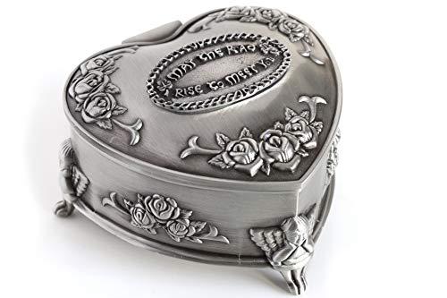 Biddy Murphy Irish Jewelry Box Heart-Shaped May The
