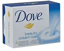 Dove Original Beauty Cream Bar White Soap 100 G / 3.5 Oz Bars
