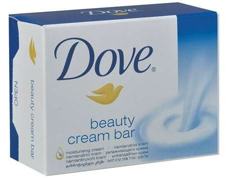 Dove Original Beauty Cream Bar White Soap 100 G / 3.5 Oz Bars (Pack of 12) by Dove ()