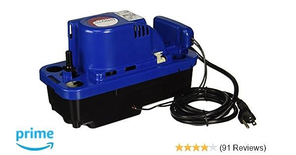 little giant 554530 vcmx-20uls 115-volt condensate pump, 1-pack: utility  water pumps: amazon com: industrial & scientific