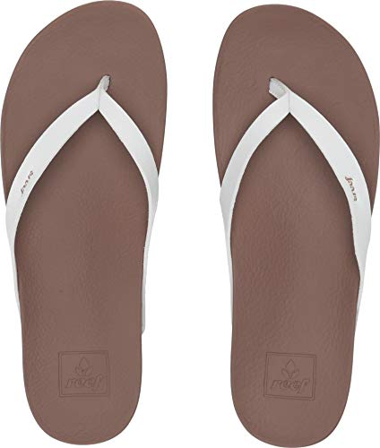 REEF - Womens Cushion Bounce Court Sandals, Size: 5 B(M) US, Color: Cloud from REEF