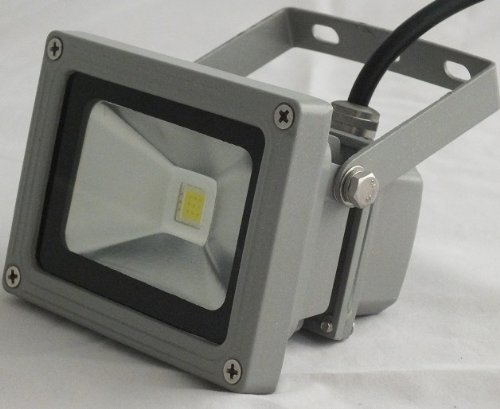10 Watt LED Waterpoof Outdoor Security Floodlight 50W Halogen Equivalent