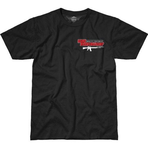 Usmc 7 Design Marksmanship negro camiseta 62 Men Battlespace HHAwnRptq