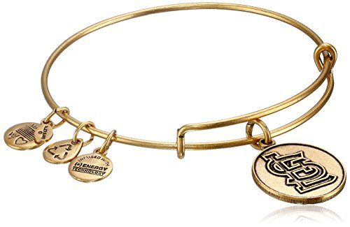 Alex and Ani St. Louis Cardinals Cap Logo Expandable Rafaelian Gold Bangle Bracelet