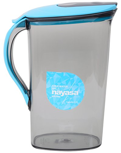 Nayasa Superplast Plastic Icon Jug 2.1 Litre, Blue Price & Reviews
