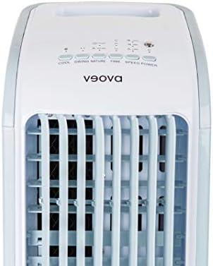 Air Cooler ECO Climatiseur mobile avec fonction déshumidification | 3 en 1 – Refroidisseur, déshumidificateur et purificateur d'air | Climatiseur mobile avec minuteur & télécommande