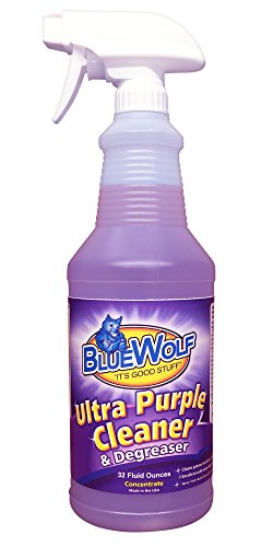 Marin Wolf (Blue Wolf BW-PQ Ultra Cleaner and Degreaser, Purple, 32 oz.)