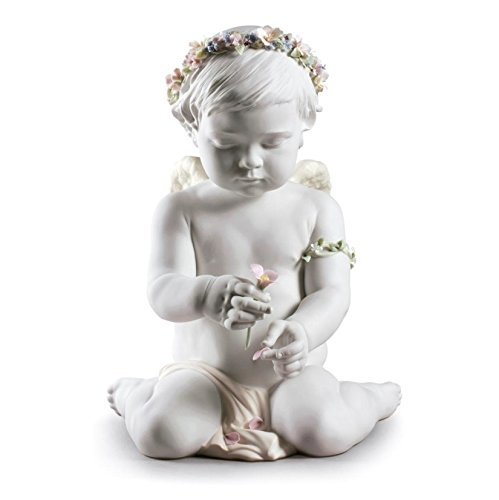 Lladro Cherub (Lladro CHERUB OF OUR LOVE 01009117 - Widenshop - Figurines New Issue 2017 09117 Best Gift for Birthdays, Holidays or any other Occasion - Collectibles Home Indoor Outdoor decorations)