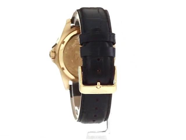 Invicta Men's Pro Diver Quartz Watch with Leather Calfskin Strap, Brown, 20.7 (Model: 10230)