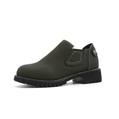 Retro Schuhe,Damenschuhe,Flachem Absatz Freizeitschuhe A