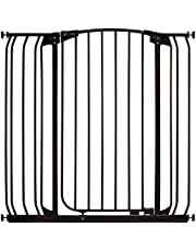 Dream Baby L782B Extra Tall Swing Closed Security Gate Black with Extensions Included