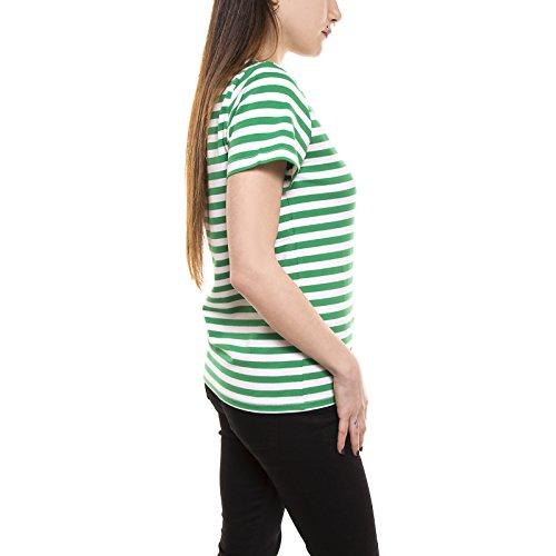 Minimum t-shirt GABRIELLA TEE PARIS GREEN