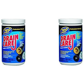 Amazon Com Zep Drain Care 18 Oz 510 G Pack Of 2 Home