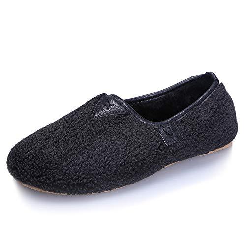 Color Zapatos 40 tamaño Qiusa EU Negro 4qSPa5