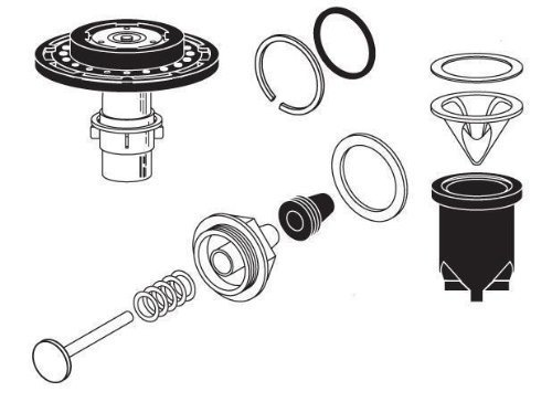 Sloan Valve R-1004-A Regal Water Closet Rebuild Kit by Sloan Valve
