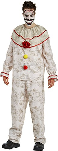 American Horror Story: Freak Show Twisty The Clown Adult Costume, Medium 40 - Creepy Clown Adult Costumes