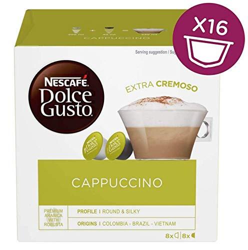 Nestle - Cafe Capuccino Dolce Gusto, 3 x 16 Capsulas.