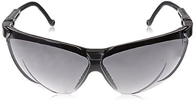 Uvex S3212X Genesis Safety Eyewear, Black Frame, Dark Gray UV Extreme Anti-Fog Lens