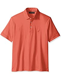 Nautica Men's Classic Fit Short Sleeve Solid Premium...