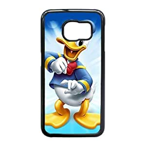 Phone Accessory for Samsung Galaxy S6 Edge Phone Case Donald Duck D1323ML